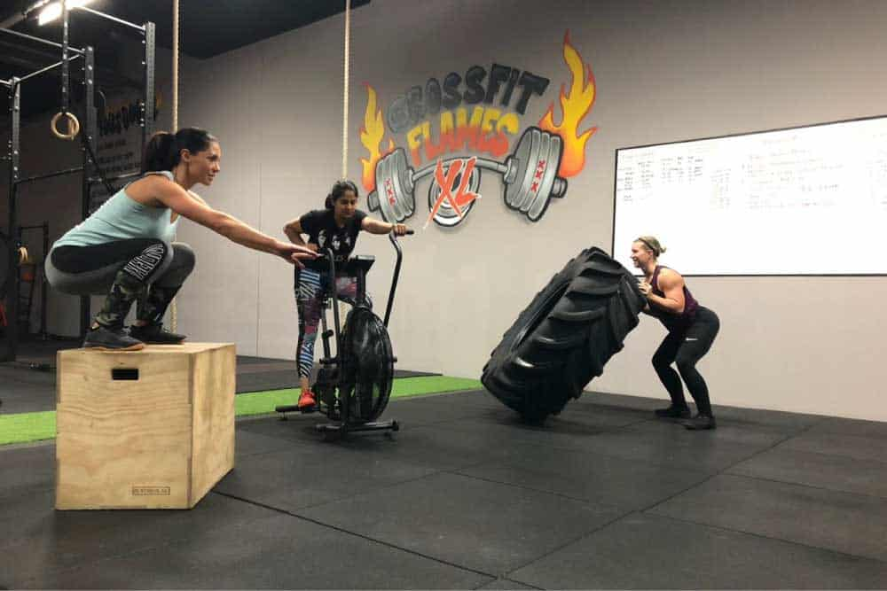 CrossFit Flames XL Wat is CrossFit 1