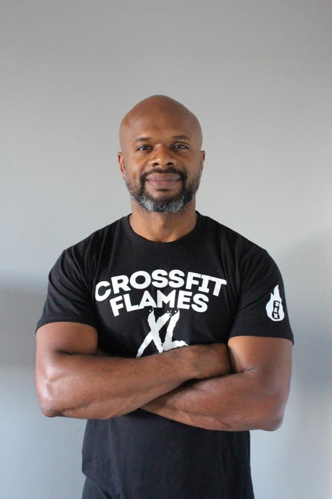 Renz bij CrossFit Flames Xl