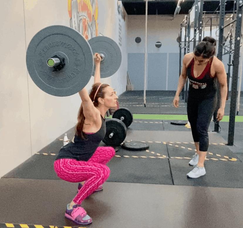 Training bij CrossFitFlames XL